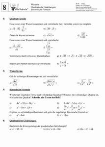 Kathetensatz Berechnen : arbeitsbl tter wurzeln vereinfachen und berechnen ~ Themetempest.com Abrechnung