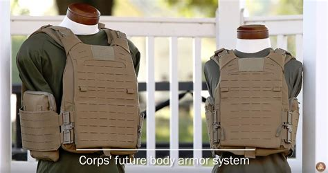 New Body Armor System For The Usmc