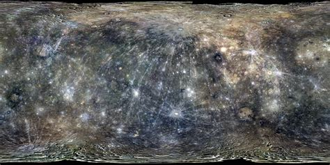 global color global color map of mercury from messenger the planetary