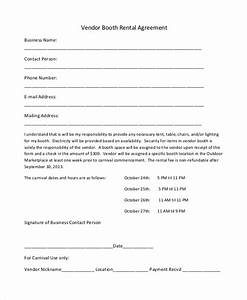 simple vendor agreement template assignment agreement deed With event space rental contract template