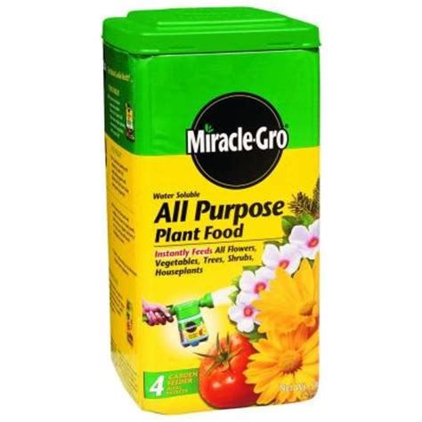 miracle gro 5 lb water soluble all purpose plant food