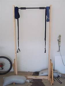 Beyond the 5K: Make Free-Standing Pull-Up Bar from 2x4's ...