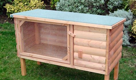 rabbit hutch cage  woodworking project plans