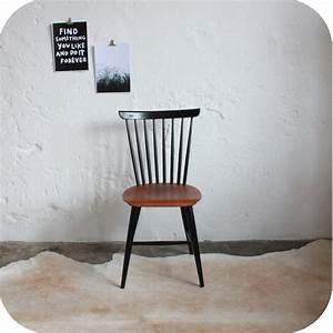 Chaise Bois Vintage : chaise bois scandinave atelier du petit parc ~ Teatrodelosmanantiales.com Idées de Décoration