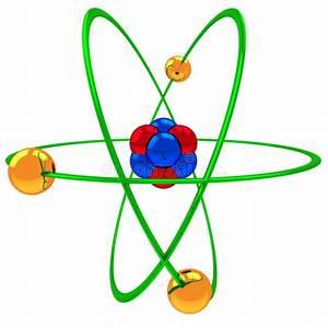 Atom Model Stock Illustration  Illustration Of Atom