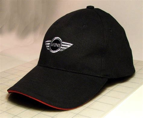 official mini cooper hatcap  wings embroidered logo