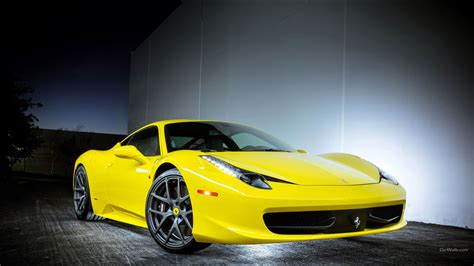 Yellow Ferrari Wallpapers Group (69