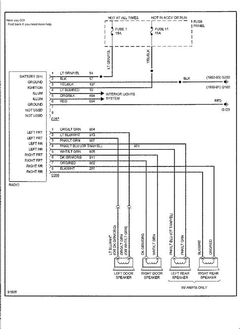 2004 Ford Explorer Radio Wiring by 2002 Ford Explorer Radio Wiring Diagram Free Wiring Diagram
