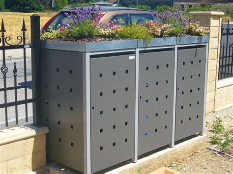 mülltonnenbox mit pflanzdach selber bauen tipps zum bepflanzen m 252 lltonnenboxen resorti m 252 lltonnenboxen