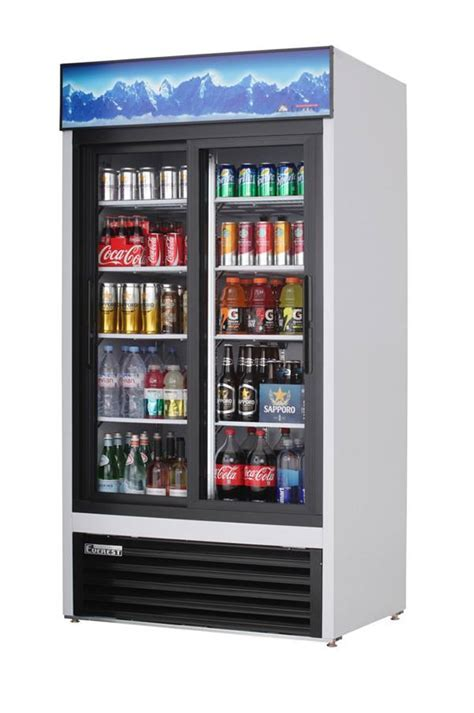Everest Refrigeration EMGR33 two section Reach In Glass