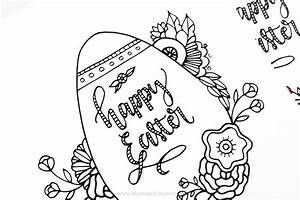 Easter Coloring Pages Free Printable Kids Love