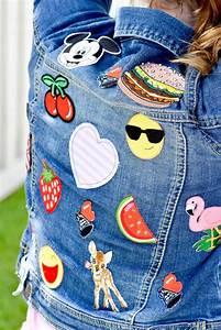 Kara, U0026, 39, S, Party, Ideas, Diy, Embellished, Jean, Jacket, For, Back, To, School