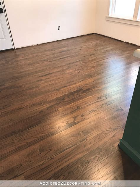 My Newly Refinished Red Oak Hardwood Floors  Addicted 2