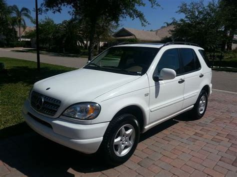 Our comprehensive reviews include detailed ratings on price and features, design, practicality, engine. Find used 2000 Mercedes-Benz ML320 Base Sport Utility 4-Door 3.2L Great Condition!! in Bradenton ...
