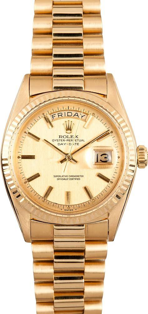 Mens Vintage Rolex Day Date 1803 - 100% Authentic Rolex