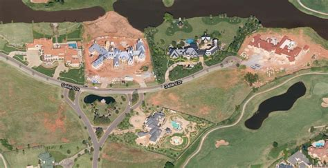 cluster  massive mansions  oklahoma city  homes   rich