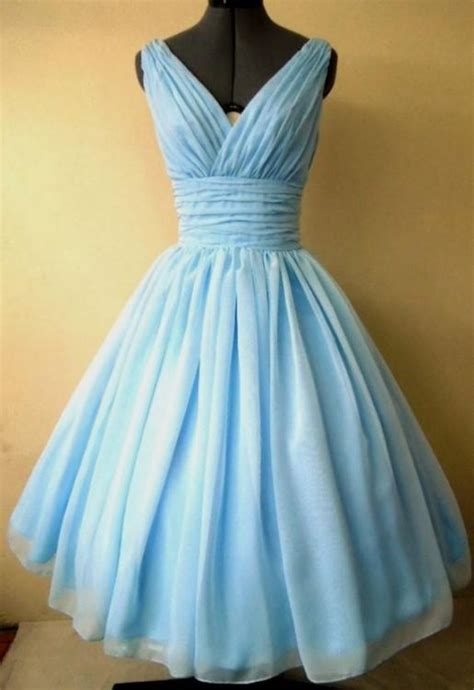 Light Blue Wedding Dress Tea Length 2016 2017 B2b Fashion