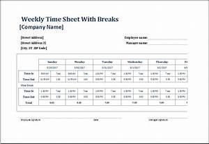 employee lunch break schedule template templates With break and lunch schedule template