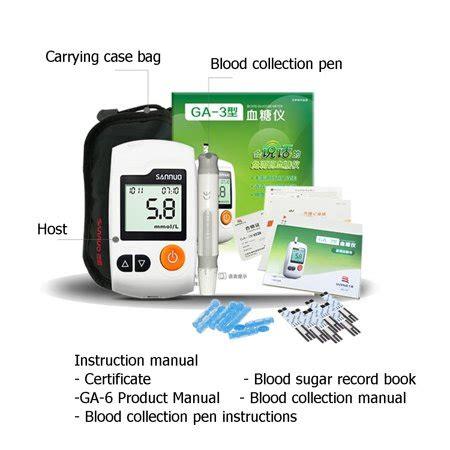 blood glucose monitor diabetes testing kit blood sugar