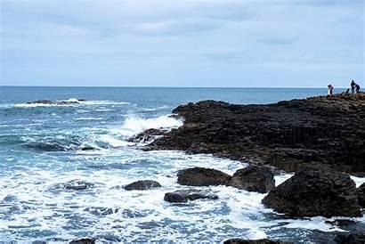 Giants Sea Causeway Coast Ocean Ireland Irish