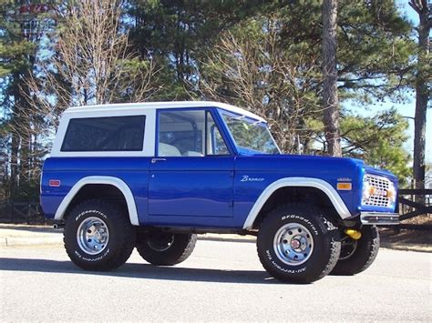 ford bronco bodies