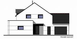 Plan Facade Maison : avis plan maison bretagne r 1 132 m 16 messages ~ Melissatoandfro.com Idées de Décoration