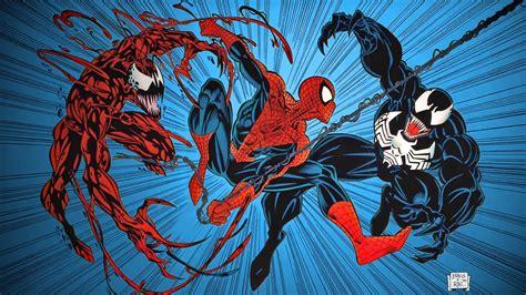 Série sony pictures universe of marvel characters venom (2018) morbius (2022) pour plus de détails, voir fiche technique et distribution venom: Venom Vs Carnage Wallpaper   Design Corral