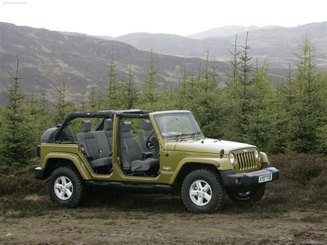 Jeep Wrangler Unlimited Picture by Jeep Wrangler Unlimited Uk 2008 Picture 26 Of 43