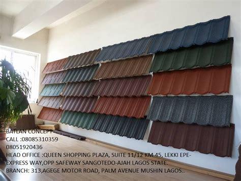 stone coated roofing tiles properties nigeria