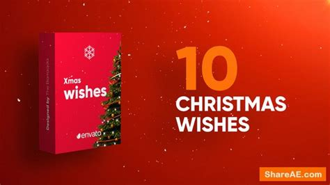 Christmas Wishes After Effects Templates videohive christmas wishes 22969347 187 free after effects