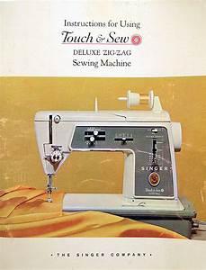Singer Touch  U0026 Sew Deluxe Zig