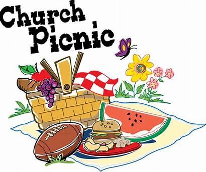 Dinner Clipart Church Clip Background Picnic Fellowship