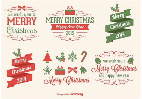 christmas vector elements download free vectors clipart graphics vector art