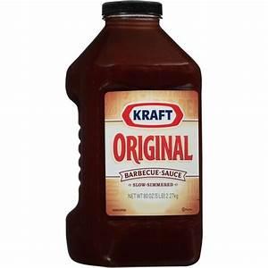 Kraft Original Barbecue Sauce, 80 oz: Snacks, Cookies ...