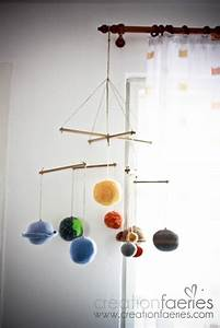 Paper Solar System Mobile - Pics about space