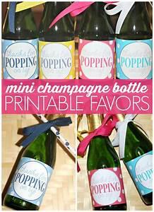 free printable mini champagne bottle favors labels With free printable mini champagne bottle labels
