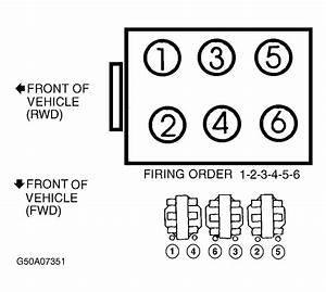 What Is The Firing Order On A 1994 Chevy Corsica 3 1l Fwd V6