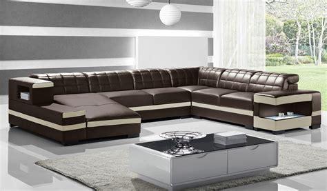 cuir center canape d angle enzo canapé d 39 angle cuir design