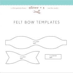 felt bow template felt bow template sixsistersstuff docs i might be able to do this