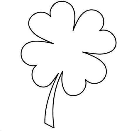 Shamrock Template Free by 20 Best Shamrock Templates Free Premium Templates