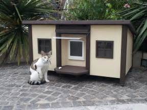 Custom Handmade Cathouse Catshelter Luxury Pet Home Front Porch Ideas Style For Ranch Home