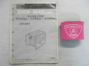 Honda Wt20xk2 Wt30xk2 Wt40xk1 Water Pump Service Shop