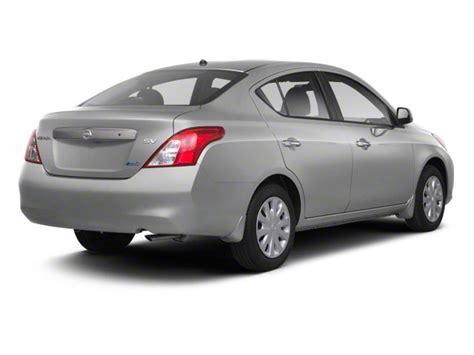 2012 Nissan Versa Sedan 4d Sv Prices, Values & Versa Sedan