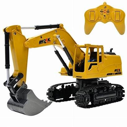Excavator Rc Toy Toys Simulation 8ch Control