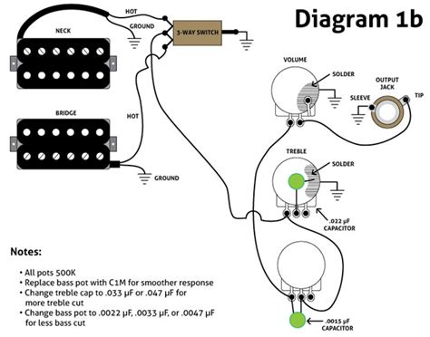 Le Paul 3 Up Guitar Wiring Diagram by Three Must Try Guitar Wiring Mods Premier Guitar