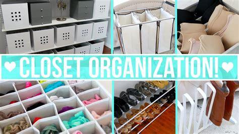 Closet Organization Ideas! Youtube