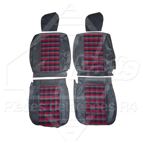 siege 4l garnitures de sieges interieur complet ecossais bleu