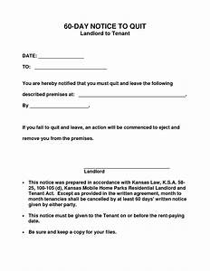 10 best images of 60 day notice form 30 day eviction With 60 day notice apartment template