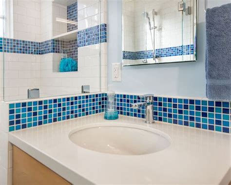 Inspiring Blue And White Bathroom Accessories