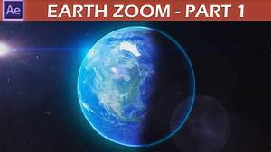 After Effects Earth Zoom Tutorial pt.1 - YouTube